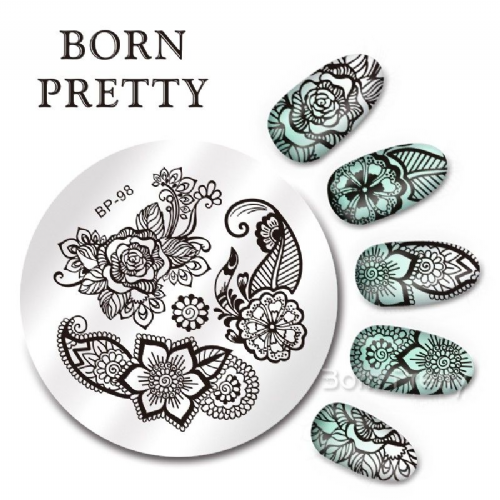 Born Pretty Plate # BP-98